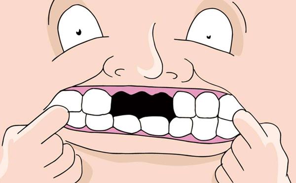 牙齿缺失导致肠胃功能紊乱